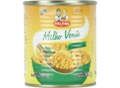 MILHO VERDE EM CONSERVA 200G