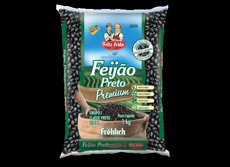 FEIJÃO PRETO PREMIUM 1KG