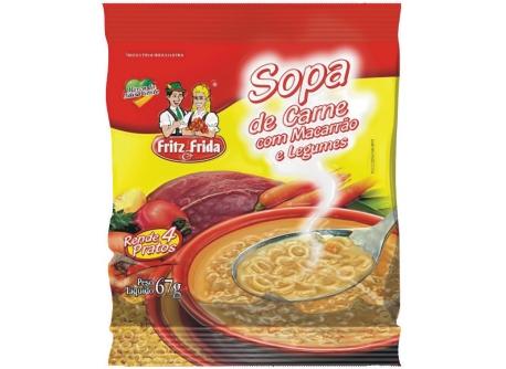 SOPA DE CARNE COM LEGUMES 67G