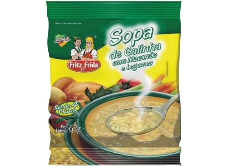 SOPA DE GALINHA COM LEGUMES 67G