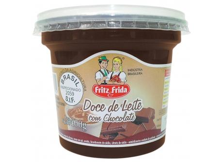 DOCE DE LEITE COM CHOCOLATE 400G
