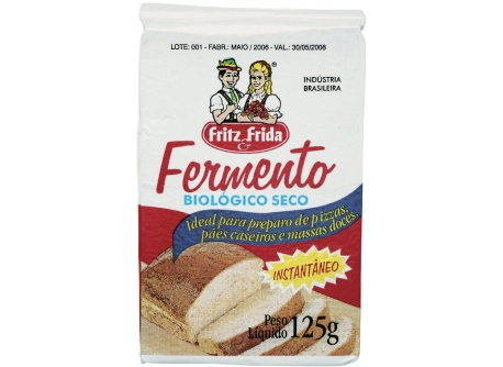 FERMENTO BIOLÓGICO 125G