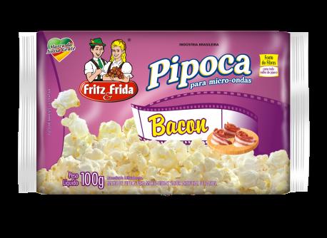 PIPOCA PARA MICRO-ONDAS BACON 100G