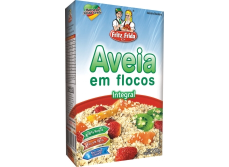 AVEIA FLOCOS INTEGRAL FRITZEFRIDA 250G