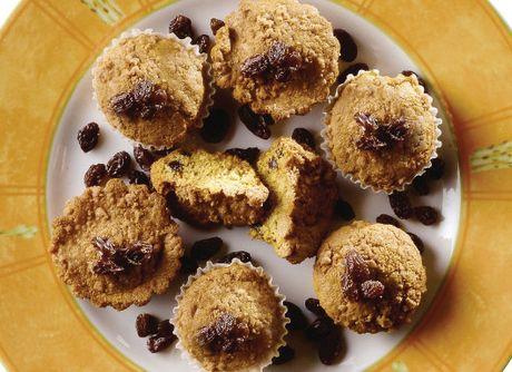 Muffins de Limão e Passas