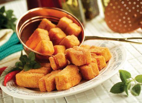 Sanduíche de Polenta Crocante