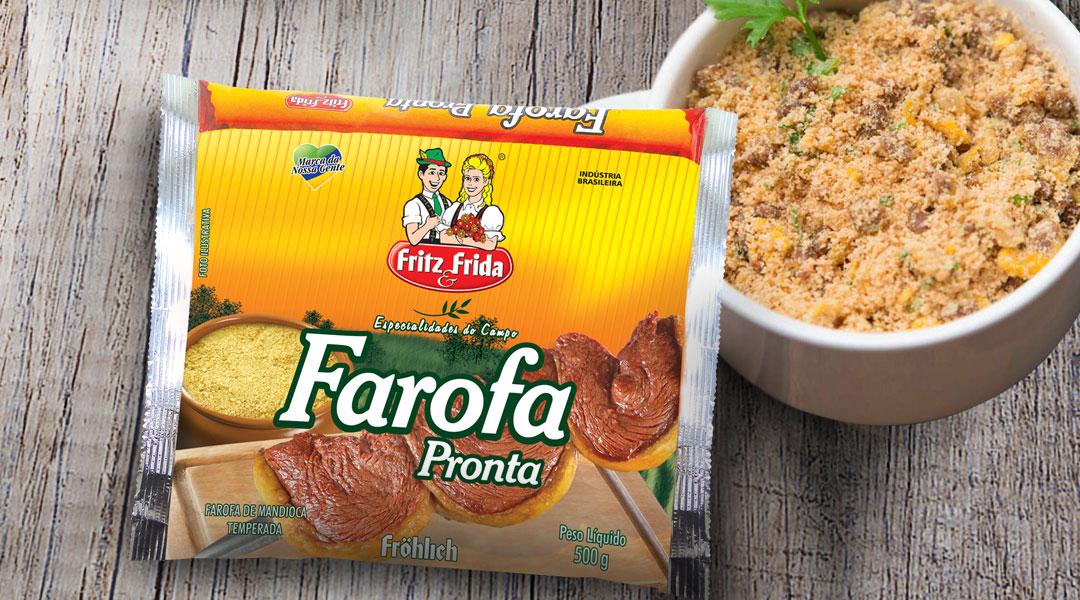 Fritz & Frida lança nova embalagem de farofa