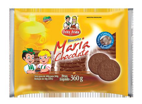 BISCOITO MARIA CHOCOLATE 360G