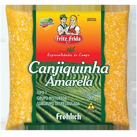 CANJIQUINHA AMARELA FRITZ&FRIDA 500G FD/10