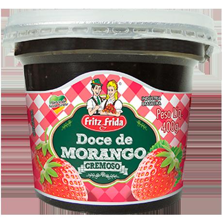 DOCE FRUTA MORANGO 400G