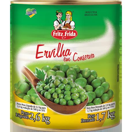 ERVILHA EM CONSERVA 2KG