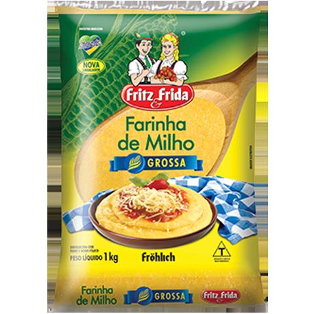 FARINHA DE MILHO GROSSA 1KG