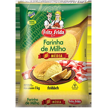 FARINHA DE MILHO MÉDIA 1KG
