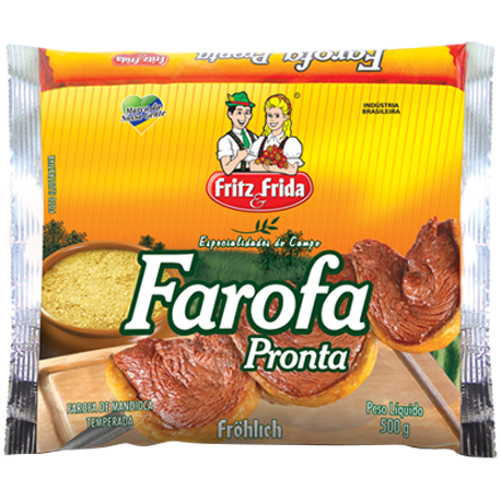 FAROFA MANDIOCA 500G