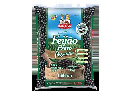 FEIJAO PRETO PREMIUM T-1 FRITZ&FRIDA 10X1KG