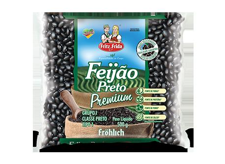FEIJÃO PRETO PREMIUM 500G