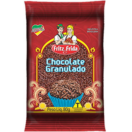 CHOCOLATE GRANULADO 80G