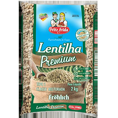 LENTILHA T-1 FRITZ&FRIDA 2KG