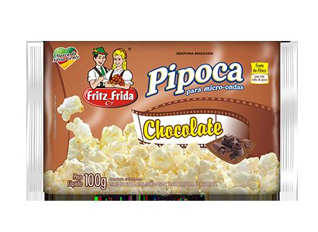 PIPOCA PARA MICRO-ONDAS CHOCOLATE 100G