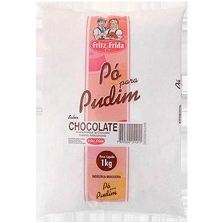 PUDIM DE CHOCOLATE 1KG