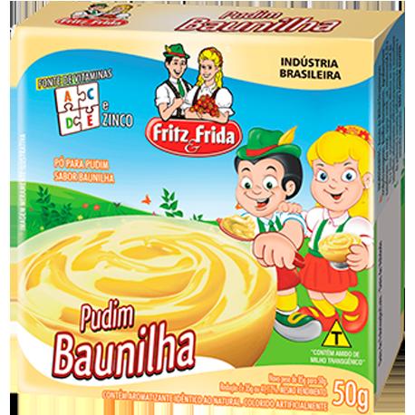 PUDIM DE BAUNILHA 50G