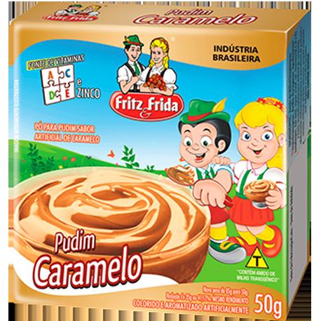 PUDIM DE CARAMELO 50G