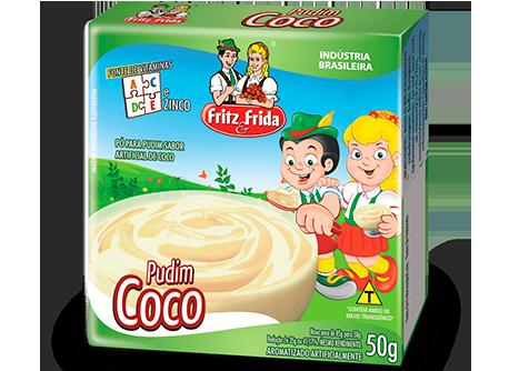 PUDIM DE COCO 50G