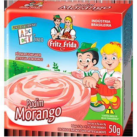 PUDIM DE MORANGO 50G