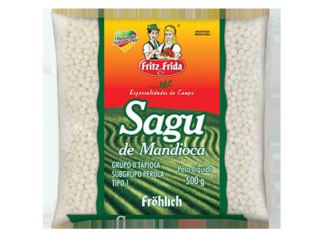 SAGU DE MANDIOCA PREMIUM FRITZ&FRIDA 10X500G