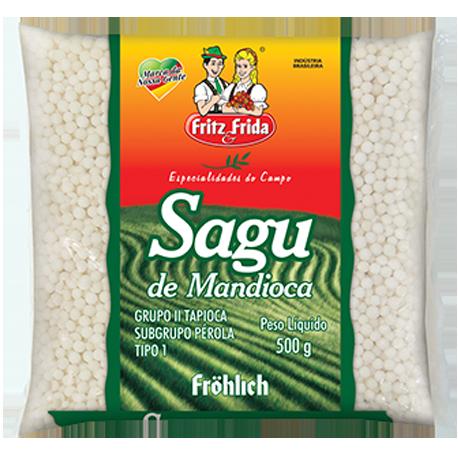 SAGU DE MANDIOCA PREMIUM 500G