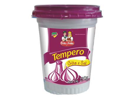 TEMPERO COMPLETO ALHO E SAL 230G